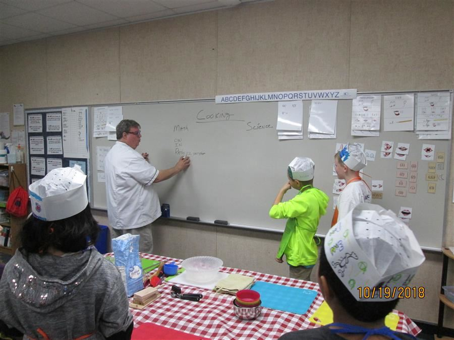 Chefsville's cooking lesson incorporated both reading and math to our learning