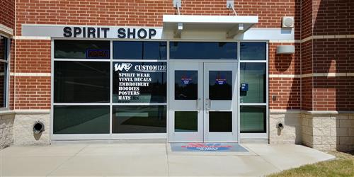 Front of the spirit shop
