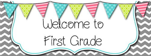 Welcome to Mrs. Benner's 1st Grade Class!