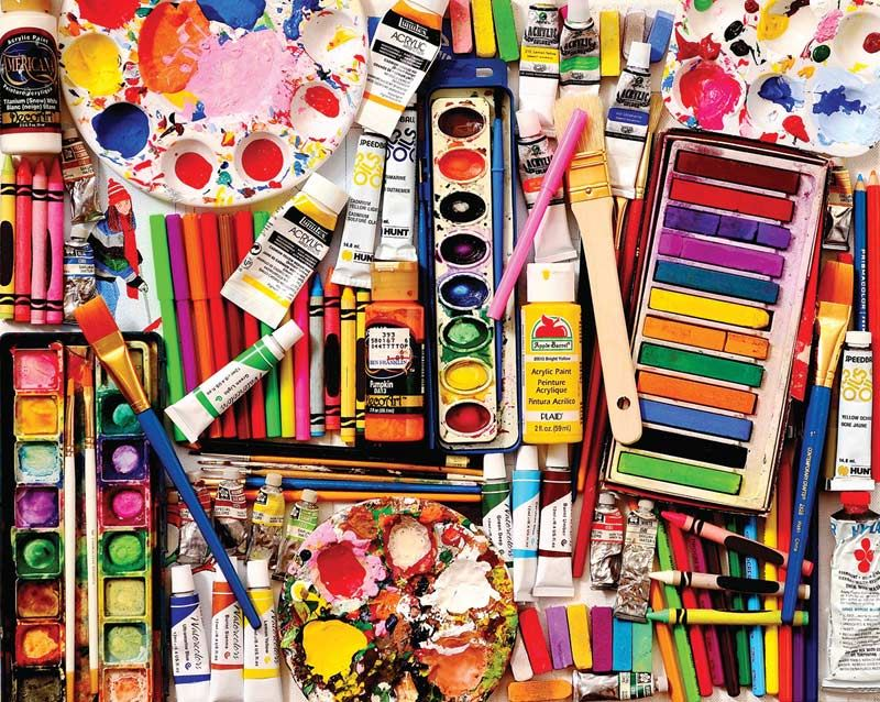 Art Supply Lists: Click Here