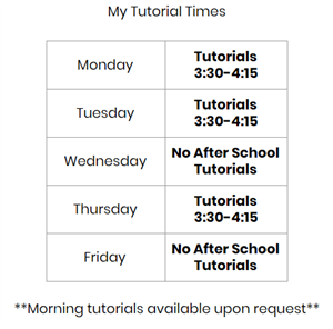Tutorial Times