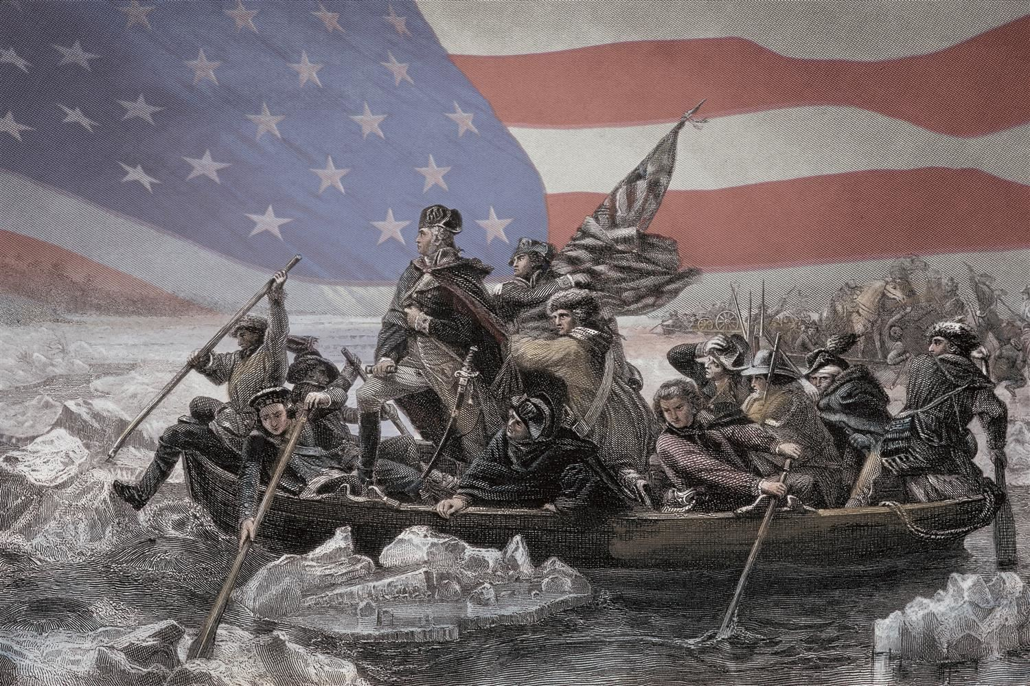 Washington Crosses the Delaware