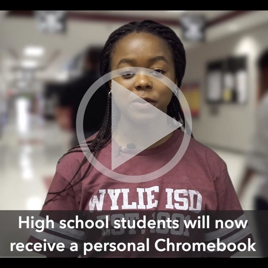 WISD 1 to 1 Chromebook video part 1