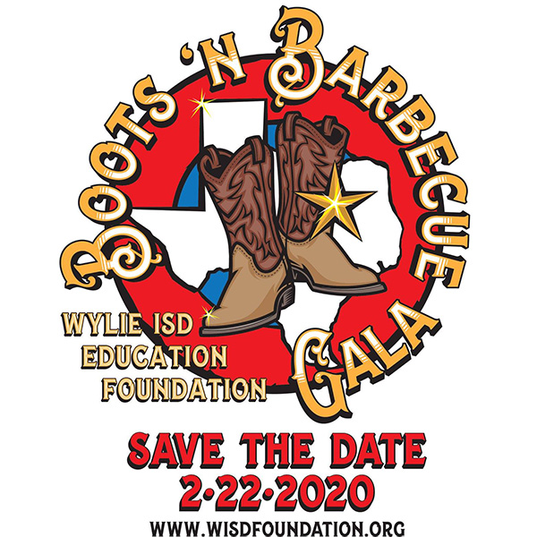 Boots 'n Barbecue Save the Date 2-22-2020