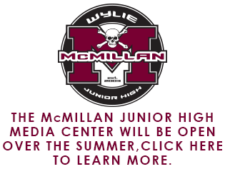 McMillan Media Center Summer Hours Information