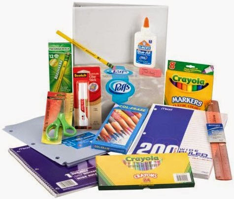 Parent and Student Pages / School Supply Lists