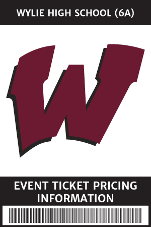 WHS Ticket Pricing Information