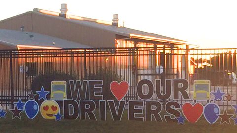 We Love our Drivers