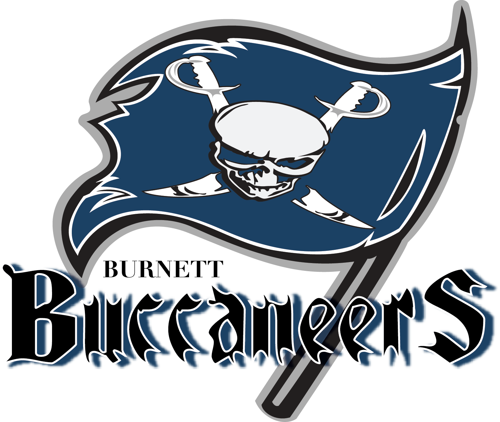 Burnett Junior High Mascot Logo