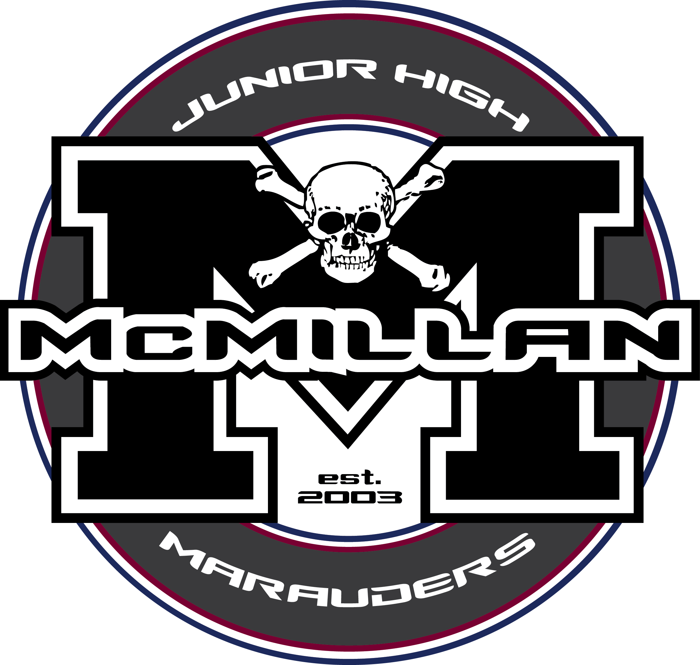 McMillan Junior High Mascot Logo