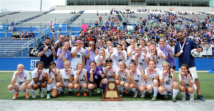 WEHS Lady Raider Soccer State Champions